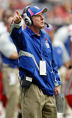 After a few hiccups in the first three weeks, Tom Coughlin's Giants are again heading the right way. (Getty Images)