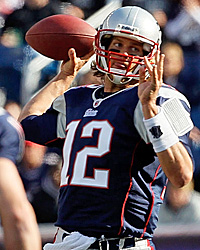Tom Brady is 4-2 vs. the Chargers, but just 2-2 in the regular season. (Getty Images)