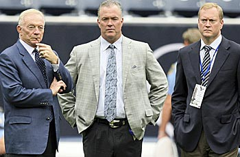 Jerry Jones and his sons have lots of work ahead of them. (Getty Images)