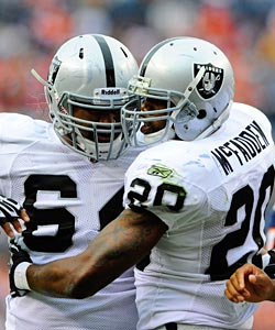 There have been lots of hugs coming Darren McFadden's way with his last two performances. (US Presswire)