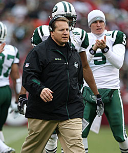Eric Mangini is set to face his former team, the Jets, this weekend. (Getty Images)