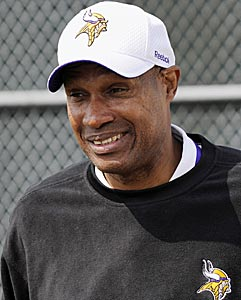 Leslie Frazier has nothing to lose in a season already lost. (AP)