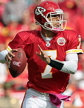 Matt Cassel's 2010 numbers put him among the league's elite passers. (Getty Images)