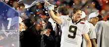 Drew Brees. (Getty Images)