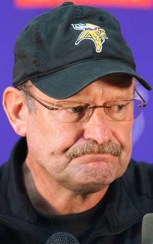 Instead of wasting the firing of Brad Childress randomly in midseason, save it up for a Black Monday extravaganza instead. (AP)