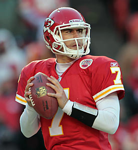 The Chiefs' Matt Cassel might not win MVP, but his value has certainly been noticeable when he takes the field. (Getty Images)