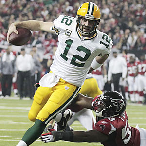 One knock against Green Bay's highly talented Aaron Rodgers is his lack of playoff experience. (AP)