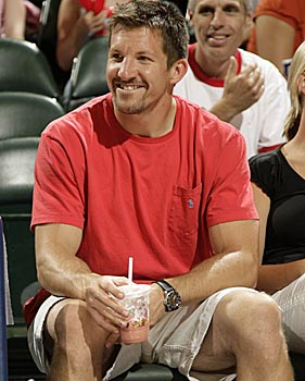 Colts star tight end Dallas Clark would like to be an actor, or maybe a rock star. (Getty Images)