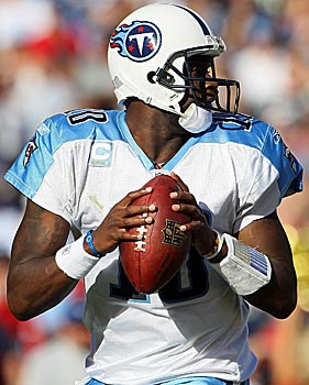 Is Vince Young a more natural passer than Cam Newton? One AFC assistant says so. (Getty Images)