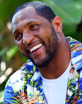 While you're reading your one millionth draft story, Ray Lewis is busy building empires. (Getty Images)