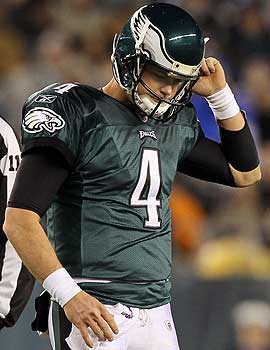 If the lockout isn't lifted before the draft, what happens to QB Kevin Kolb? (Getty Images)