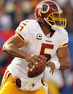 Donovan McNabb could give the Vikings a bridge to Christian Ponder. (Getty Images)