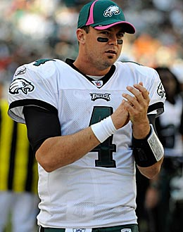 Kevin Kolb could be the much-needed QB answer for the Cardinals. (US Presswire)