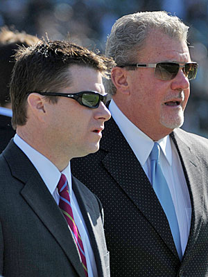 Chris Polian 'is the general manager for sure,' says Colts owner Jim Irsay. (US Presswire)
