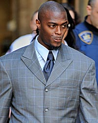 Burress has nothing to lose after spending nearly two years in prison. (Getty Images)