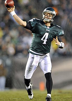 Strong demand will lead the Eagles to deal away Kevin Kolb, even with Michael Vick's injury risks. (US Presswire)