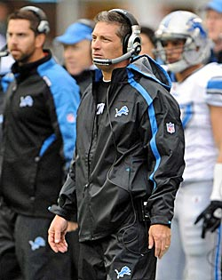 Jim Schwartz might actually give Detroit a playoff team. (US Presswire)