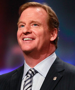 The fate of the NFL season may rest on Roger Goodell's ability to negotiate a new CBA in private meetings with DeMaurice Smith. (Getty Images)