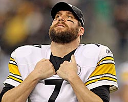 Just because he has two Super Bowl rings doesn't mean Big Ben is a Hall lock. (Getty Images)