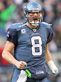 The Seahawks hit with their trade to acquire Matt Hasselbeck, who led Seattle to its only Super Bowl appearance. (Getty Images)