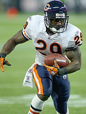 Chester Taylor didn't give the Bears much return on their investment. (Getty Images)