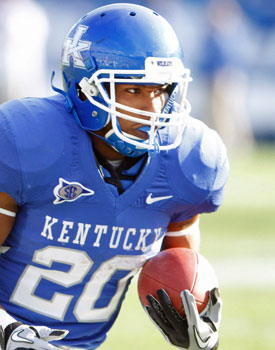 Derrick Locke is a solid option for teams searching for running back depth. (US Presswire)