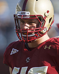 Boston College LB Luke Kuechly (US Presswire)