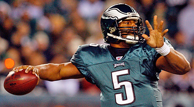 Another Eagles quarterback will be hard-pressed to equal McNabb's track record in Philly. (Getty Images)