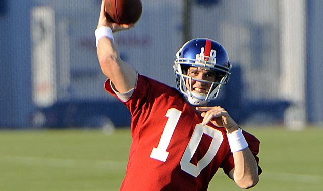 Eli Manning and the Giants have the pieces to get to another Super Bowl. (AP)