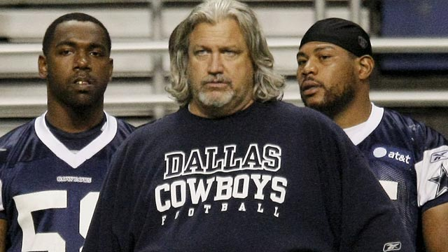 Rob Ryan's style is in sharp contrast to Jason Garrett, but the head coach says of Ryan, 'we really hit it off.' (AP)