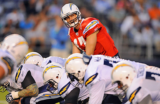 If Philip Rivers can stay healthy, the Chargers may finally live up to expectations. (US Presswire)
