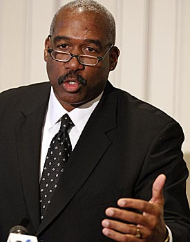 Gene Smith says the investigations have cost Ohio State about $800,000 so far. (AP)