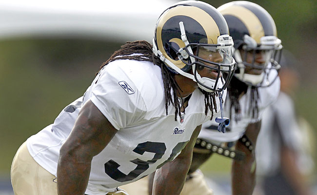 Steven Jackson gets a solid backup in Jerious Norwood, who could also help the return game. (AP)