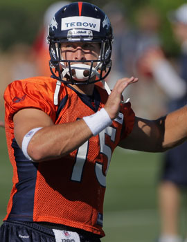 Tebow would be an All-Pro based on work ethic alone -- but will it be enough to achieve NFL success? (Getty Images)