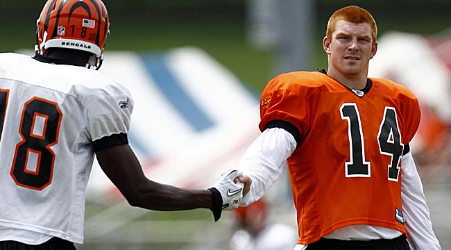 No. 1 pick A.J. Green and No. 2 Andy Dalton will lead Cincy's latest rebuilding effort. (US Presswire)