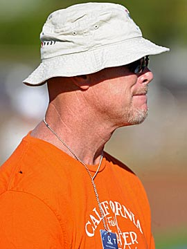 Jim McMahon watched Pro Bowl practice last February in Hawaii. (US Presswire)
