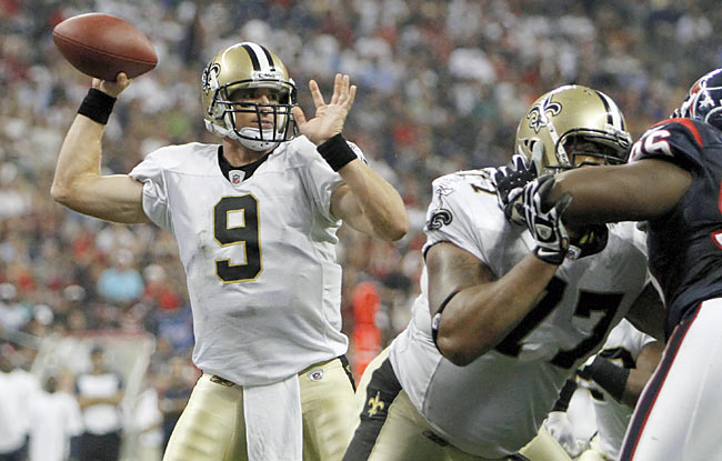 Drew Brees and the Saints still boast one of the league's most potent offenses. (US Presswire)