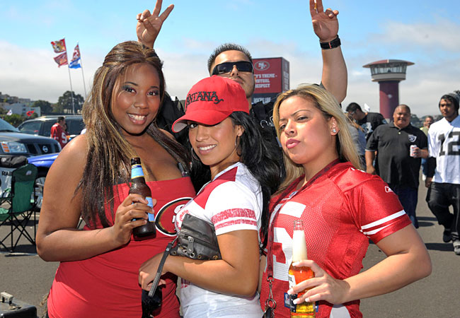 Tailgate drinking doesn't help matters as fans get the party started well before gametime. (US Presswire)