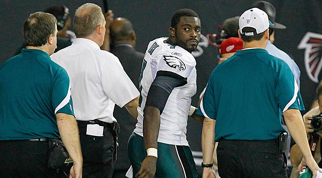 As Vick heads for the exit, the Eagles' competitive edge seems to go with him. (Getty Images)