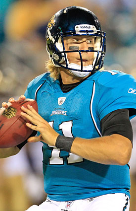 Blaine Gabbert is ready to take charge for the Jaguars, who will likely look deep more often. (Getty Images)