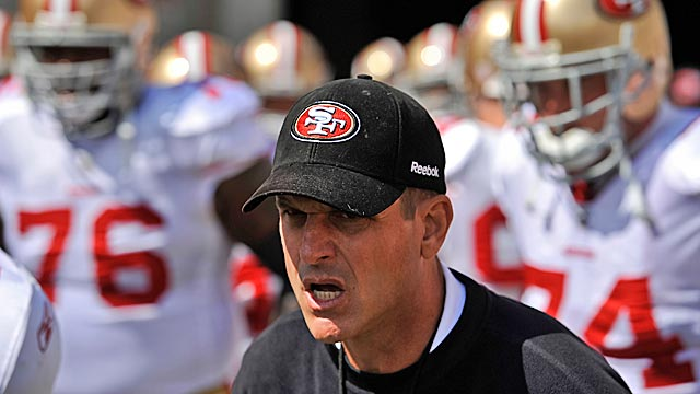 Harbaugh is quick to say his players are good, but he doesn't want them to think they've arrived. (Getty Images)