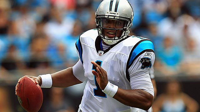 Newton has the special qualities of big-time pro quarterbacks, Warren Moon says. (Getty Images)