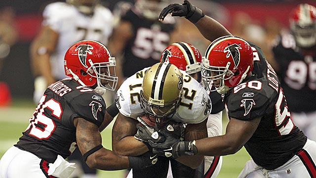 Saints or Falcons? Well, New Orleans just won in Atlanta and has a schedule advantage. (US Presswire)
