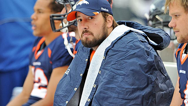 Instead ot letting Orton stew on the bench, the Broncos granted his wish and released him. (US Presswire)