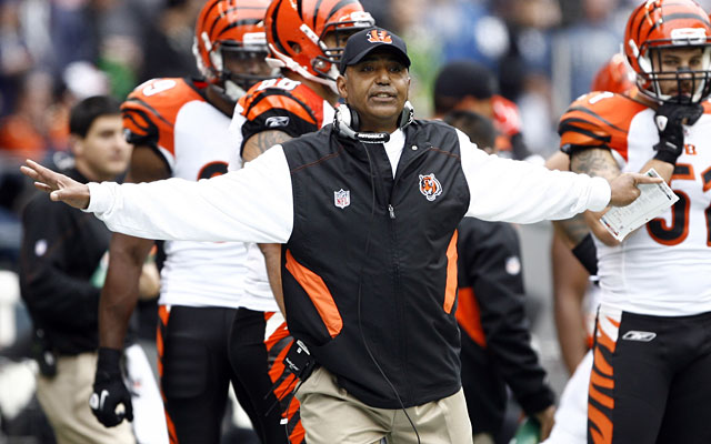 Marvin Lewis' Bengals have a tough road ahead, but 2011 has already been a strong season. (US Presswire)