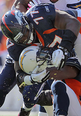 Defensive tackle Brodrick Bunkley has helped the Broncos defense round into a winning group. (Getty Images)