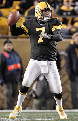 Monday night's Pittsburgh-San Francisco game is an easy pick: If Big Ben plays, the Steelers win. (Getty Images)