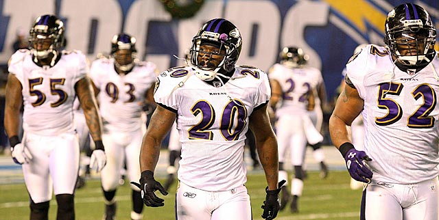 Nothing in their recent play on the road suggests the Ravens would fare well as a wild card. (US Presswire)