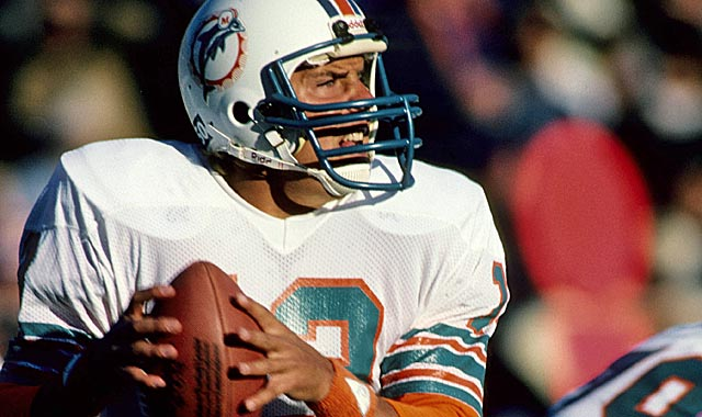 Dan Marino didn't play in an era with stats 'artificially enhanced by rules changes.' (US Presswire)