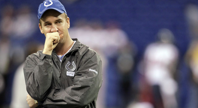 Peyton Manning will continue to do individual work as he recovers from neck surgeries. (AP)
